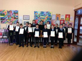 Congratulations to P6 & 7 Pupils who Achieve Level 1 Mandarin Examination